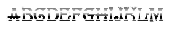 HerrFoch Gradient Font LOWERCASE