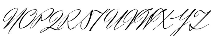 HerrVonMuellerhoff-Regular Font UPPERCASE