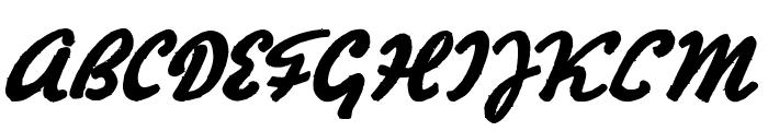 Hertz Oscillations Font UPPERCASE