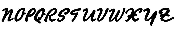 HertzOscillations Font UPPERCASE