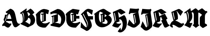 HerzogVonGraf Tall Font UPPERCASE