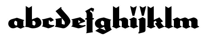 HerzogVonGraf Font LOWERCASE