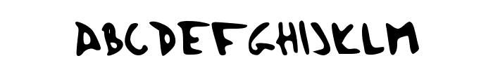 Herzogscript Font UPPERCASE