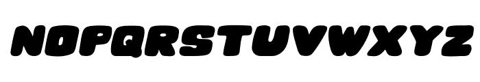 Hesitation Italic Font UPPERCASE