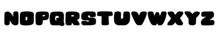 Hesitation Regular Font UPPERCASE