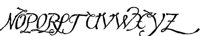 Hesperides Demo Font UPPERCASE
