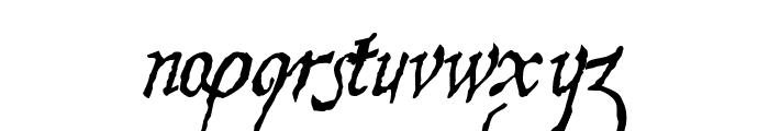 Hesperides Demo Font LOWERCASE