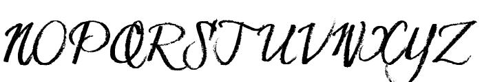 Hesster Moffett TRIAL Font UPPERCASE