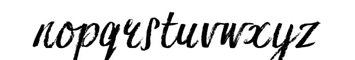 Hesster Moffett TRIAL Font LOWERCASE