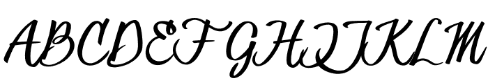 HessterMofetCLEAN_TRIAL Font UPPERCASE