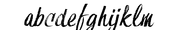HessterMofetDIRTY_TRIAL Font LOWERCASE