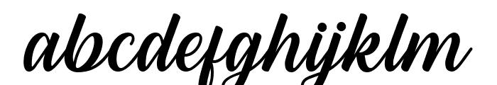 Hestina Font LOWERCASE