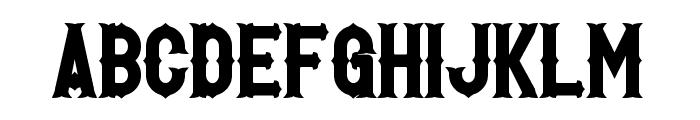 Hetfield Bold Font UPPERCASE