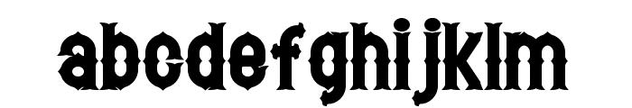 Hetfield Bold Font LOWERCASE