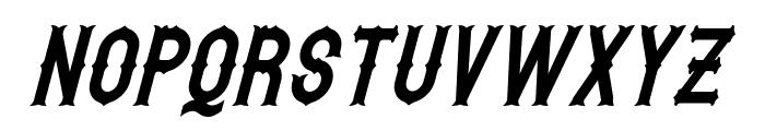 Hetfield Italic Font UPPERCASE