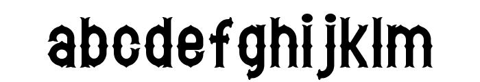 Hetfield Font LOWERCASE