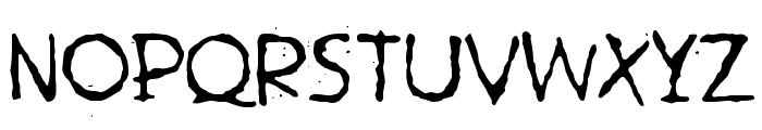 Hetkea Myohemmin Font LOWERCASE