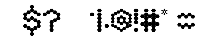 Hexa Font OTHER CHARS