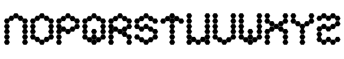 Hexa Font LOWERCASE