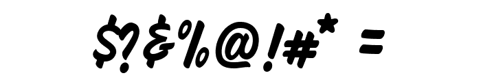 HeyBrights Regular Font OTHER CHARS