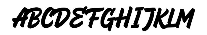 HeyBrights Regular Font UPPERCASE