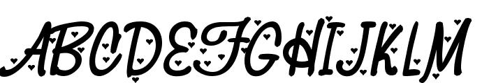HeyValentine Font UPPERCASE