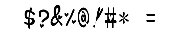 heartfont Font OTHER CHARS
