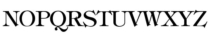 hebrew Font UPPERCASE