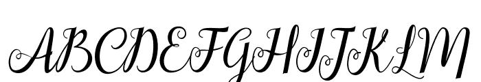 hellifademo Font UPPERCASE
