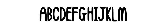 hellogiraffe Font UPPERCASE