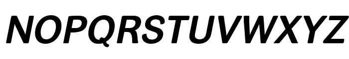 helvari Bold Italic Font UPPERCASE