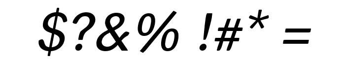 helvari Italic Font OTHER CHARS