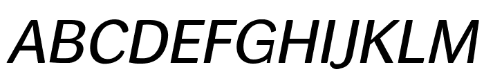 helvari Italic Font UPPERCASE