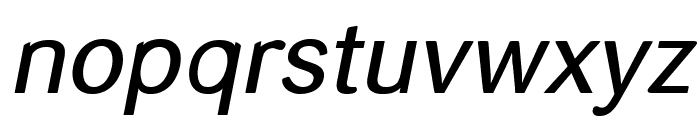 helvari Italic Font LOWERCASE