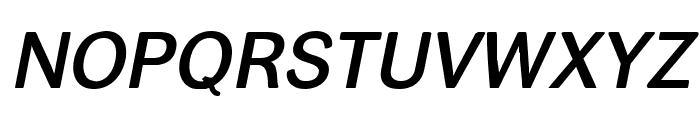 helvari Medium Italic Font UPPERCASE