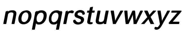 helvari Medium Italic Font LOWERCASE