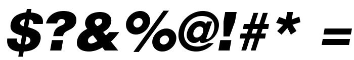 HelveticaLTStd-BlkObl Font OTHER CHARS
