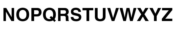 HelveticaLTStd-Bold Font UPPERCASE