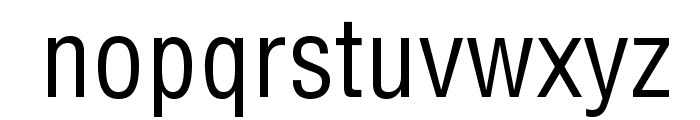 HelveticaLTStd-Cond Font LOWERCASE