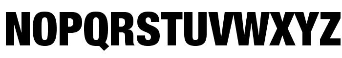 HelveticaNeueLTStd-BlkCn Font UPPERCASE