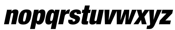 HelveticaNeueLTStd-BlkCnO Font LOWERCASE