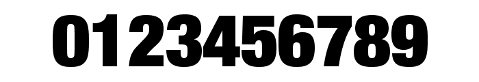 HelveticaNeueLTStd-XBlkCn Font OTHER CHARS