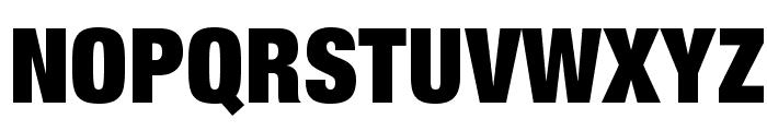 HelveticaNeueLTStd-XBlkCn Font UPPERCASE