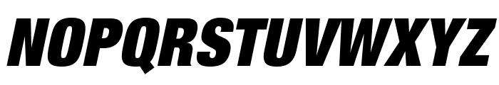 HelveticaNeueLTStd-XBlkCnO Font UPPERCASE