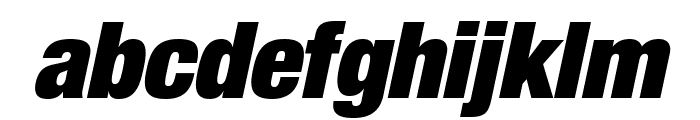 HelveticaNeueLTStd-XBlkCnO Font LOWERCASE
