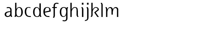 Head Regular Font LOWERCASE