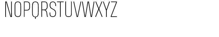 Heading Pro Smallcase Pro Thin Font UPPERCASE