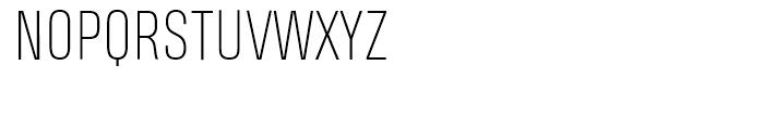Heading Pro Smallcase Pro Thin Font LOWERCASE