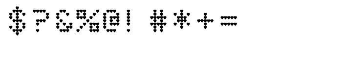 Heart Matrixed Regular Font OTHER CHARS