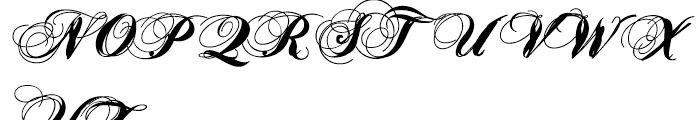 Heathen Regular Font UPPERCASE